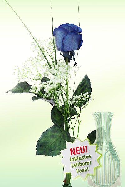 blumenstrau blaue rose von auf. Black Bedroom Furniture Sets. Home Design Ideas