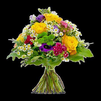 Blumenstrauß Bunte Geburtstagswünsche Von Fleurop Auf Blumende