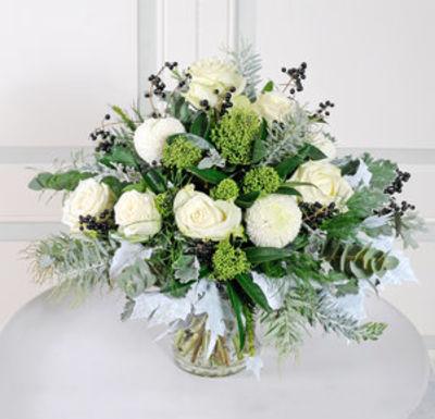 Eleganter Blumenstrauss In Schwarz Weiss Von Blume2000 De Auf Blumen De